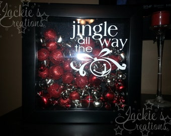 Jingle All the Way Shadow Box