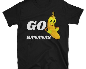 Funny Banana T-shirt|Fruit Lovers|Vegan Shirt| Birthday Shirt