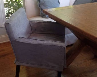 SLIPCOVER: Parson's Chair with Arms