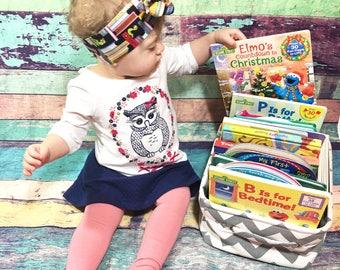 Bookworm Headwrap- Headwrap; Bookworm Headband; Bookworm Bow; Book Headband; Book Headwrap; Book Bow; Head Wrap; Girls Headbands; Girls Bows