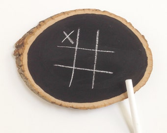 Wedding Games, Tic-Tac-Toe Wedding Game, Chalk Board Game, Games to Play at Weddings