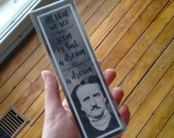 Edgar Allan Poe Quote - Bookmark