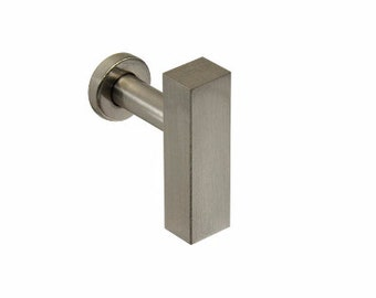 European Cabinet knob - Brushed Nickel Knob - Drawer Knob Pull