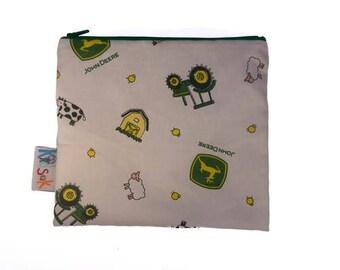 John Deer Reusable snack bag - Large