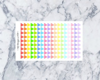 Mini Arrow Stickers || 162 Planner Stickers