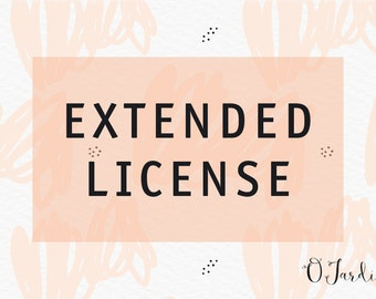 Extended Commercial Use License for one item.