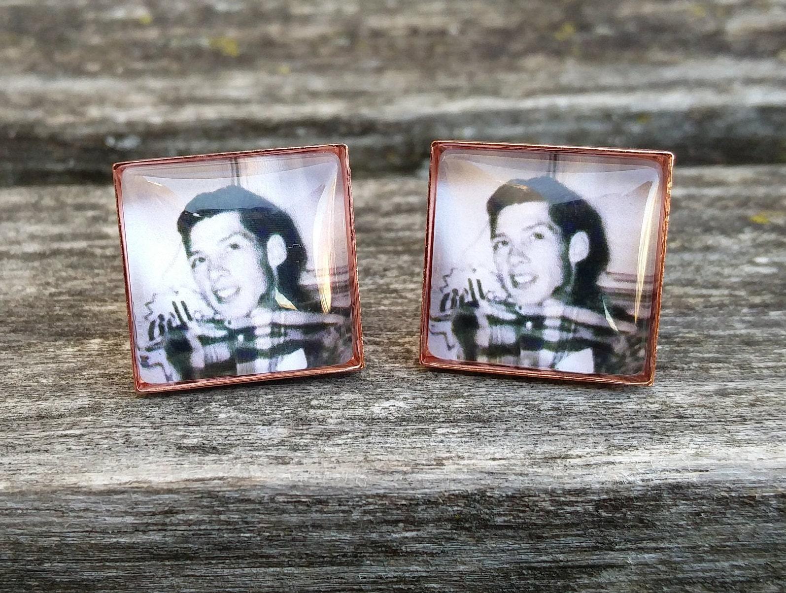 Custom photo cufflinks wedding anniversary father s day