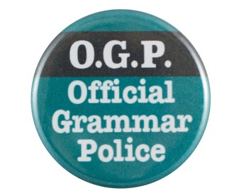 """O.G.P. 1.25"""" Button Pin"""