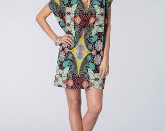 Dress sewing pattern Vogue V1496 endings