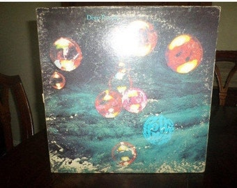 Vintage 1973 LP Record Deep Purple Who Do We Think We Are Warner Brothers Records 6339