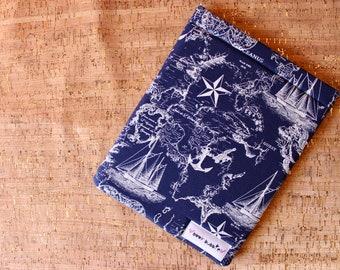 Hardcover Nautical Book Sleeve