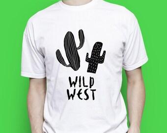 Wild West T-shirt, Wild West men T-shirt, Wild West women T-shirt, Wild West people, Wild West birthday, Gift for men, Present for men,Texas