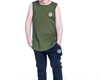trendy boy  / Boys tank top / Boys clothing / Boys Top / Toddler tank / toddler boy /toddler shirt /baby shirt / toddler clothing / baby boy
