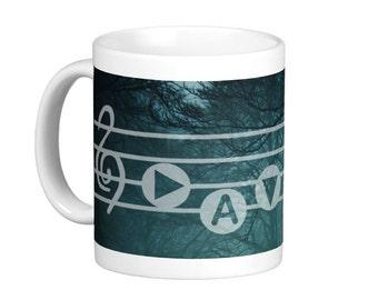 Song of Time Song Mug - Legend of Zelda