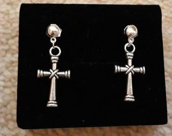 Irish Celtic Cross  Earrings