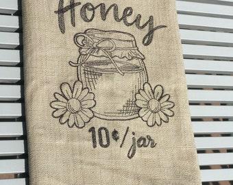 Kitchen Towel - Pure & Local Honey