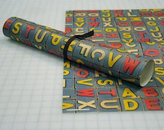 Alphabet Block Paper by Rossi