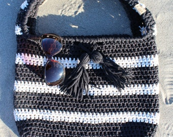 Small Crochet Tote/Bag, Beach Bag, Tote