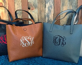 Monogram Purse - Embroidered Monogram Purse - Embroidery Monogram - Monogrammed Handbag - Monogrammed Purse - Personalized Gift for Mom