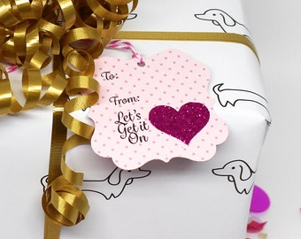 Valentine Tags, Valentines Tags, Lover Gift Tags, Gift Tags, VDAY Gift tags, Gift for her, Gift for him, Hang Tags, Valentines Day