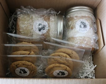 Vegan Cake Jar and Cookie Box // Gift Box