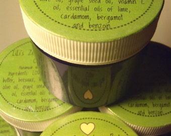 LiLi's Zesty Lime Body Cream