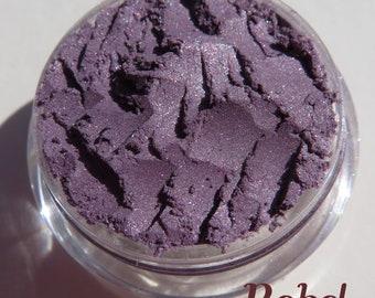Dark Plum Purple Mineral Eyeshadow | Loose Pigments | Cruelty-Free | Vegan Mineral Eye Shadow - Rebel