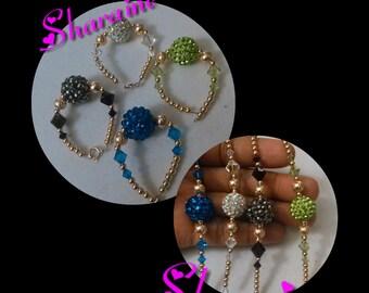 Shiny Bell Beaded Bracelet