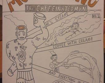 Mochaccino the Caffeinated Man #1