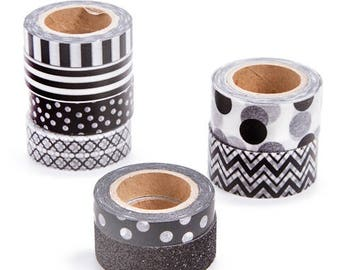 Assorted Washi Tape BLACK