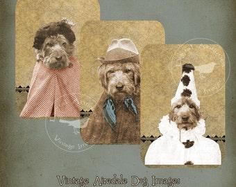 Vintage Airedale Dog Images Printable Digital Download