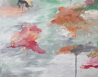 Flow Series #1: Original Abstract Oil Painting