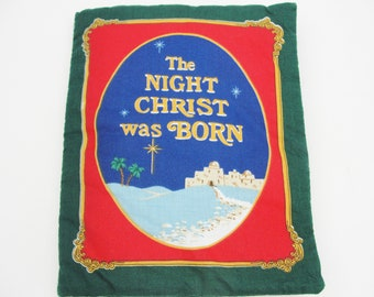 The Night Christ was Born soft book