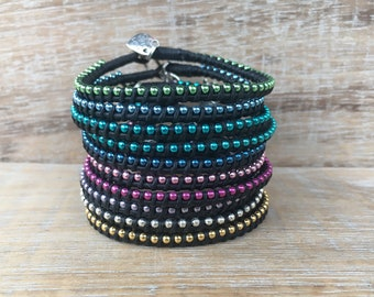 Wholesale Bracelets, Wholesale Jewelry, Black Leather Bracelets, Friendship Bracelets, Charm Bracelets, Boutique Jewelry, Bridesmaid Gifts