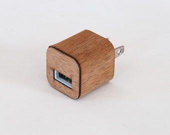 Mahogany Skin for iPhone Charger - Compatible with iPhone 6, iPhone 6S, iPhone 5 / 5S, iPad & More!