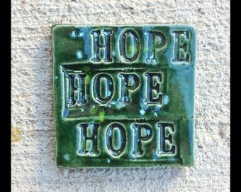 Mosaic HOPE Tile