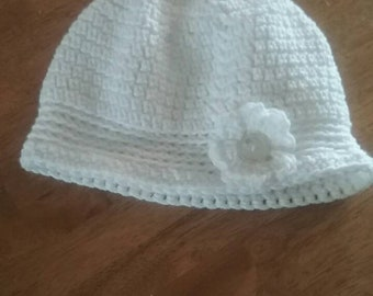New Hand Crocheted Flapper Hat