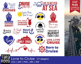Cruise svg / Family Cruise svg / svg for Cricut / svg for Silhouette / Cruise / Cruise Vacation / Love to Cruise / Commercial Use Allowed