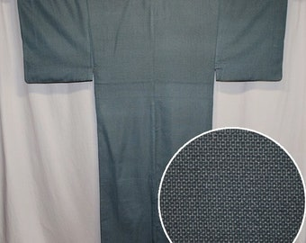Vintage Japanese Kimono Casual Robe Man's Sturdy Weight