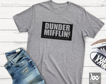 DUNDER MIFFLIN SHiRT -Unisex T | Ladies Tee | Womens T-Shirt | Mens T-Shirt | Unisex Tank | The Office Shirt,Office
