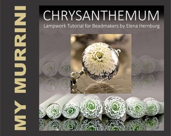 Chrysanthemums. Tutorial for lampworkers.