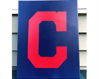Cleveland Indians Canvas