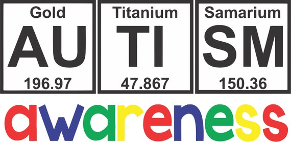 Autism periodic table cut file urtaz Gallery