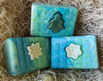 Fresh Snow Scent, Handcrafted Soap