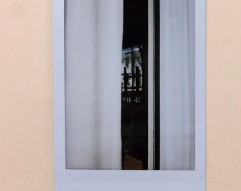 Linen Abstract - Instant Film Print