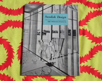 The Swedish Institute: Swedish Design 1958 book