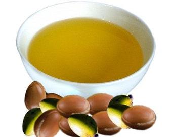Certified Organic Unrefined Raw  Argan Oil