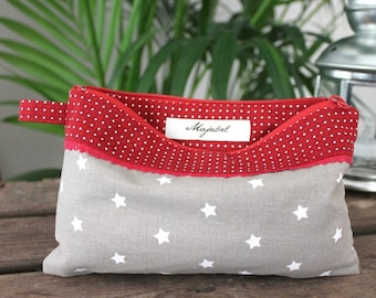 Cotton pouch handmade AMELIE