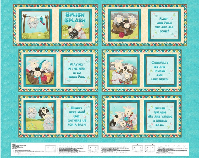 SPLISH SPLASH CLOTH Book by Sandy Lee for Henry Glass