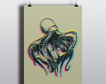 CMYK Octopus